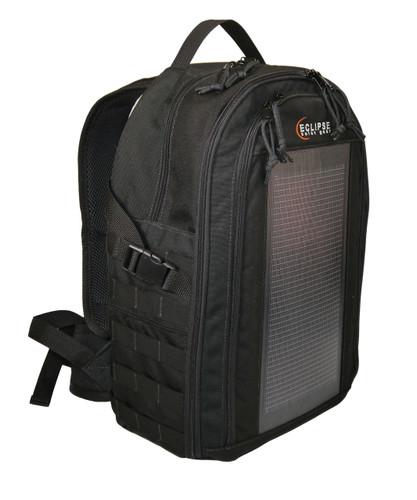 The Photo Pro Solar Backpack, Black