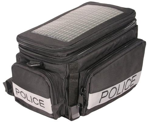 The Police Solar Bike Bag, black