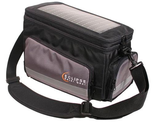 The Nomad Solar Bike Bag, black