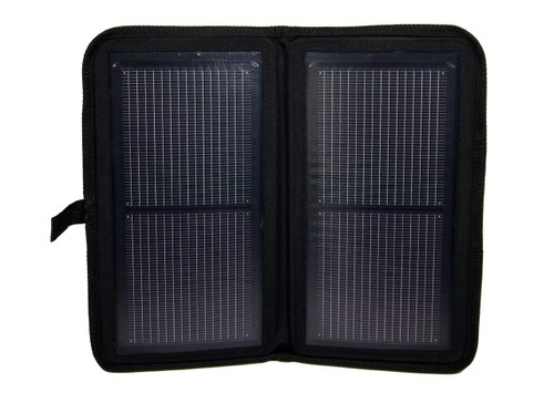The Eclipse Foldout Solar Charger, open