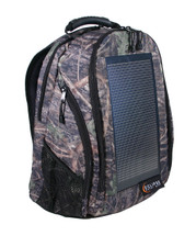 The Eclipse Solar Backpack, True Timber Camo