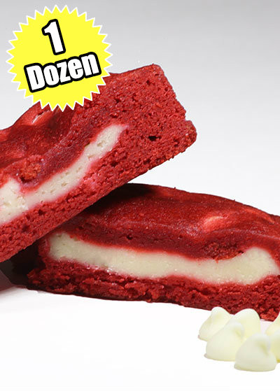 Red Velvet Cookie STUFT with Cheesecake