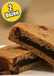Chocolate Chip Cookie STUFT with Fudge Brownie – Two (2) Dozen