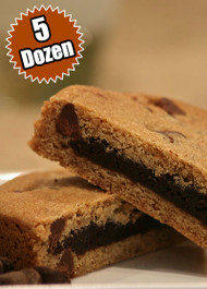 Chocolate Chip Cookie STUFT with Fudge Brownie – Five (5) Dozen