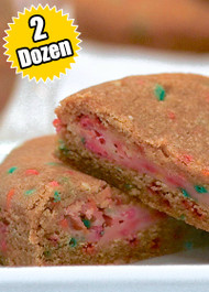 Confetti Cookie STUFT with Birthday Cake – Two (2) Dozen