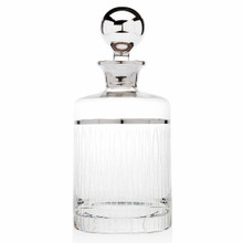 Crystal Seabreeze Decanter 4.00L X 4.00W X 10.00H