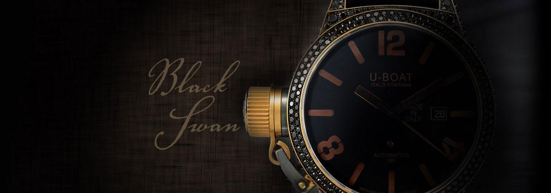 U-BOAT Black Swan Wristwatch