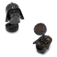 Luxe Darth Vader Cufflinks with Black Onyx