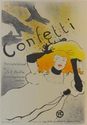 Confetti Fine Art Poster Lithograph