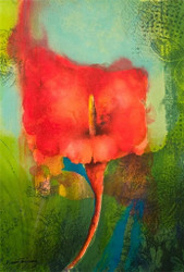 Red Lily Limited Edition Signed Lithograph