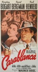Casablanca 3 Sheet Fine Art Poster Lithograph