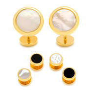 Round Double Sided Beveled Stud Set
