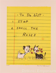 To Do List Stop and Smell the Roses