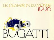 Bugatti Le Champion du Monde 1926