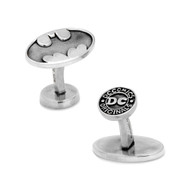 Sterling Silver Batman Cufflinks