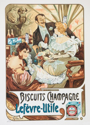 Biscuits Champagne Lefvre-Utile