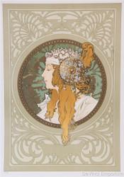 Byzantine Head Blonde