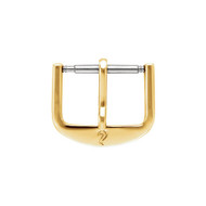 Plain Watch Buckle in 14K or 18K Gold