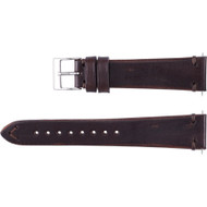 Men's  Vintage Style Leather  Watch Strap