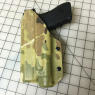 Light Bearing IWB Holster w/Adjustable Belt Clip