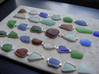 bracelets with supplied sea glass