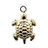 goldfilled sea turtle charm