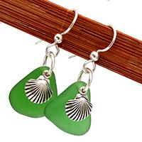 green-sea-glass-earrings-with-shell-charms.jpg