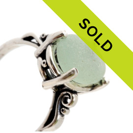 This sea glass ring has sold!