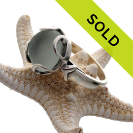 Sorry this one of a kind sea glass ring has sold!