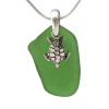 A great sea glass necklace for any time of year!