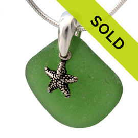 Sorry this green sea glass necklace has sold!