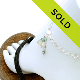 Sorry this sea glass anklet has sold!
