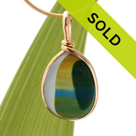 Sorry this ultra rare sea glass pendant is no longer for sale