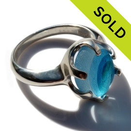 SOLD - Sorry this Ultra Rare Sea Glass Ring is NO LONGER AVAILABLE!