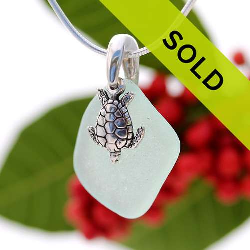 Sorry this sea glass necklace has been sold!~