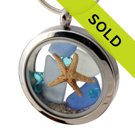 Sorry this sea glass jewelry is no longer available!