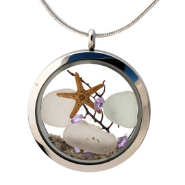 If you would like a similar locket, please call us at 772-581-0463 and we will be happy to make another similar.