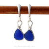 A great pair of sea glass earrings for those ladies that do not like big earrings.