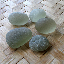 Large and very round sea glass pieces from Seaham England great for display!