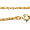 This affordable piece comes with a free gold plated chain but other options are available as an upgrade
