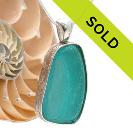 This custom sea glass jewelry is not available.