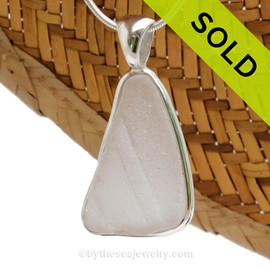 We can always create a custom sea glass pendant from your supplied sea glass