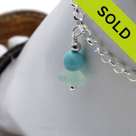 Sorry this piece of sea glass jewelry has been sold!