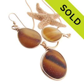 SOLD - Sorry this Sea Glass Set is NO LONGER AVAILABLE!