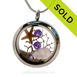 SOLD - Sorry This Sea Glass Jewerly Selection Is NO LONGER AVAILABLE!
