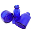 Many products like Phillips MOM, Noxzema and Bromo Seltzer were packaged in beautiful cobalt blue glass bottles.