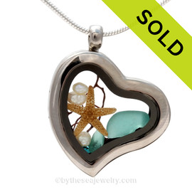 Custom Our Sea Glass Jewelry Work - Reserved For Lynethe