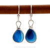 These are the EXACT pair of Super Ultra Rare Sea Glass Earrings you will receive!