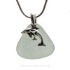 A Genuine Sea Glass Necklace great for any beach loving mom.