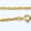 Comes with a Free PLATED gold chain. Other options in 14K rolled gold are available.